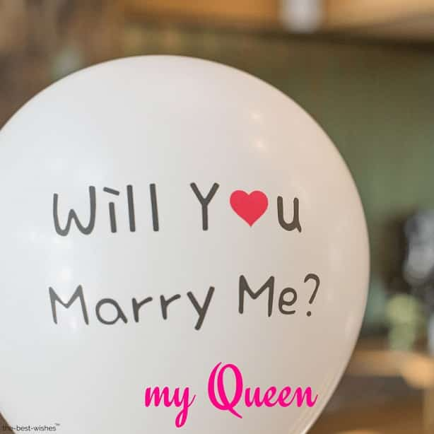 will you marry me my queen