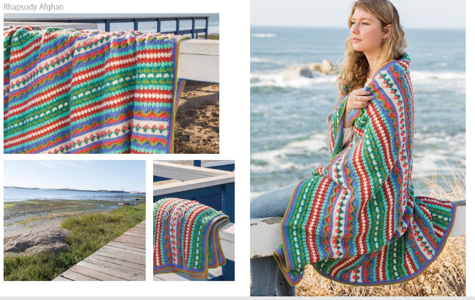 Rhapsody Crochet Afghan Pattern