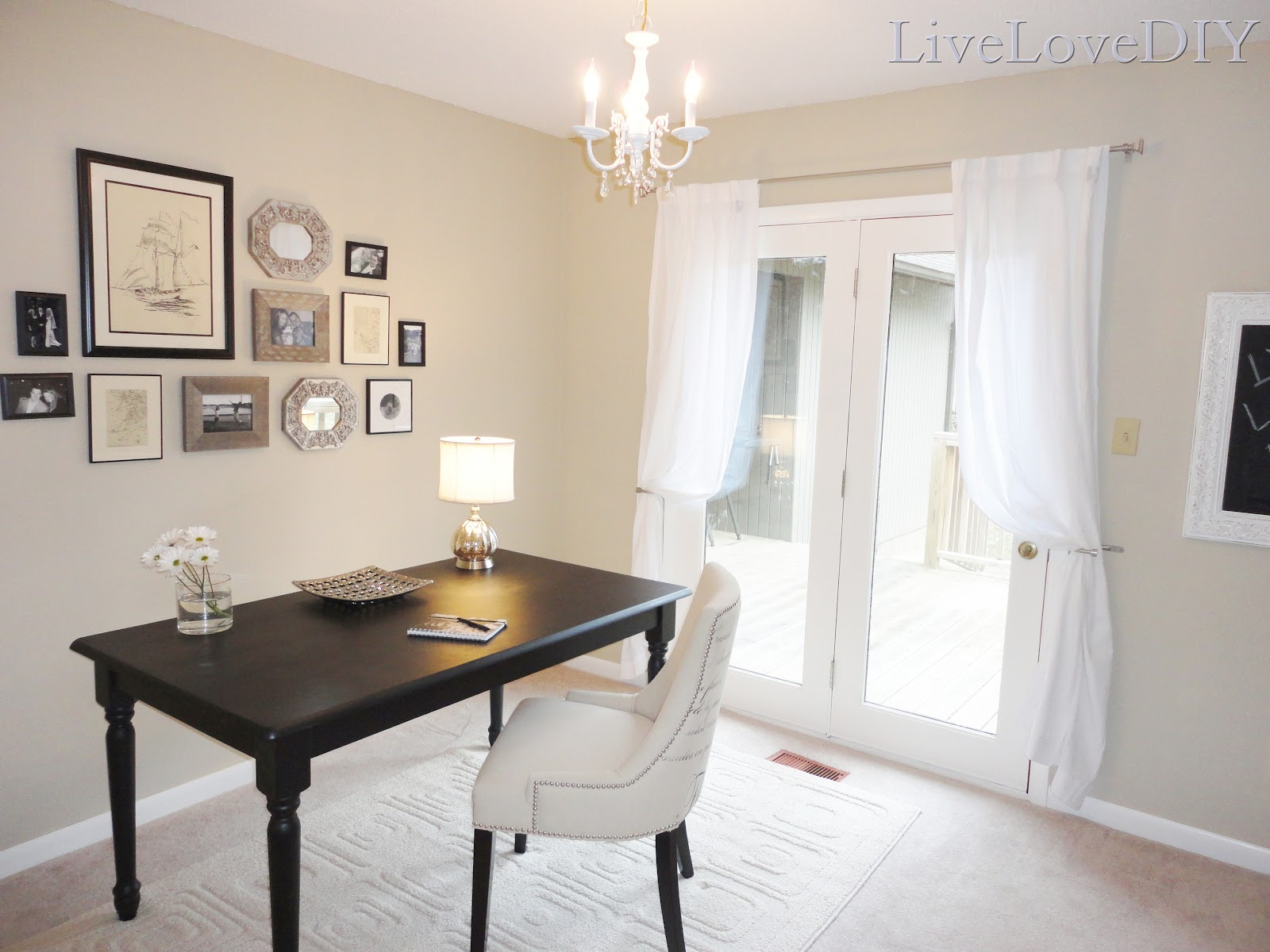 LiveLoveDIY Painting Trim & Walls What You Need To Know