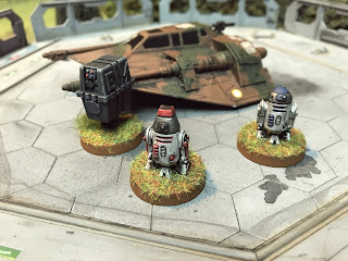 Three droids for Star Wars Legion