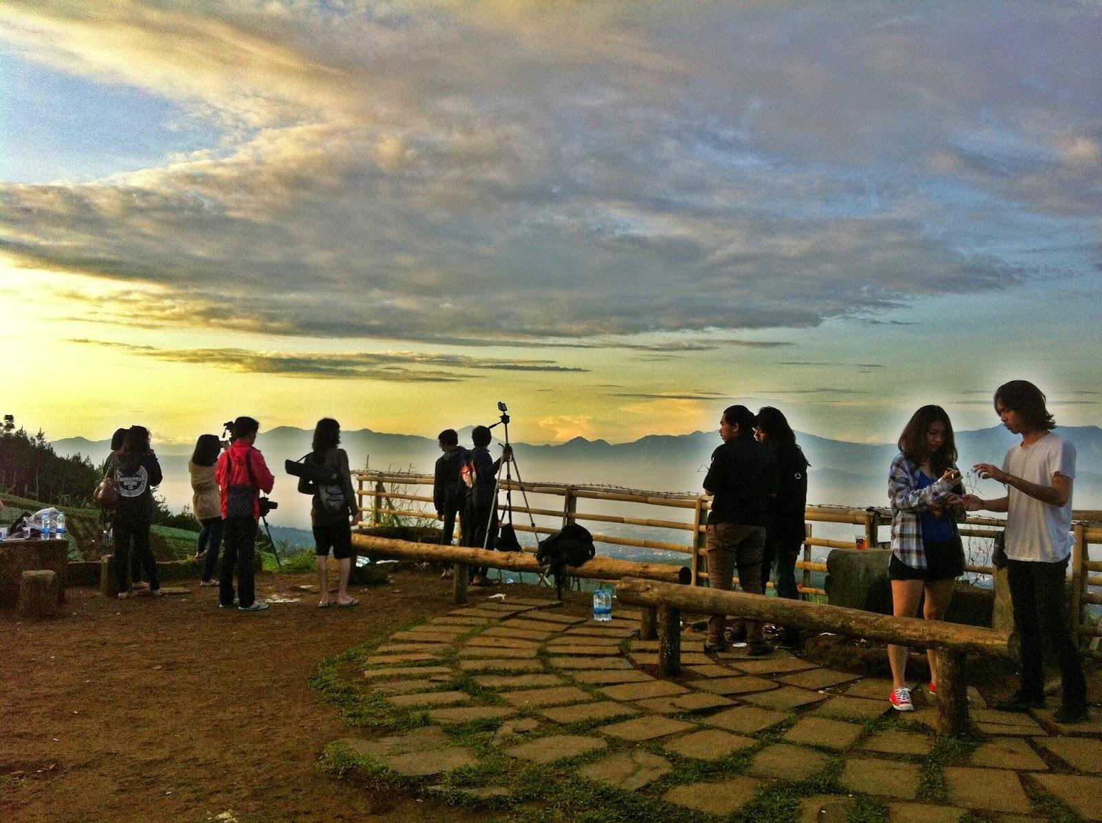 Indahnya Bukit Moko Bandung