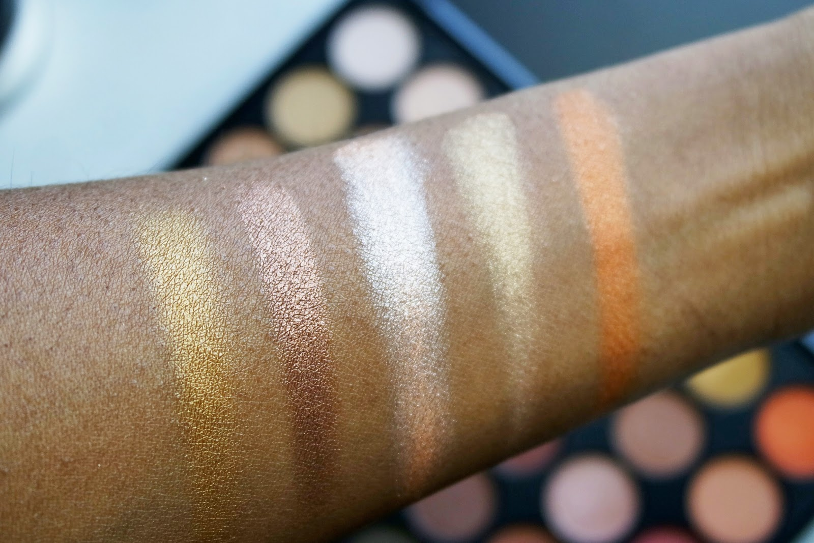 Morphe 35os Swatches