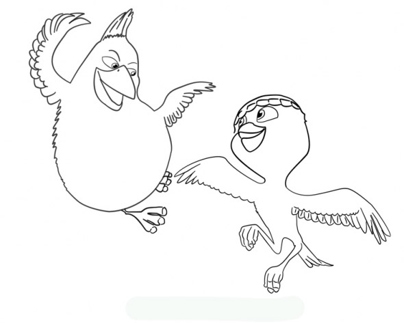 free rio the movie coloring pages | Animals Coloring Pages Picture | Free Printable Coloring ...