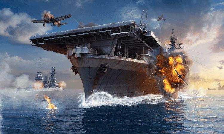 تحميل لعبة السفن الحربية الاستراتيجية world of warships