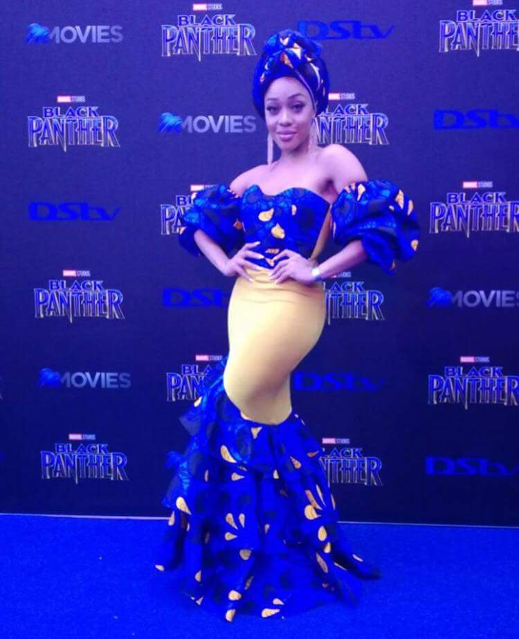 Last Night Was The Black Panther Premiere And It Was: Check Out Stunning Outfits At Black Panther South Africa
