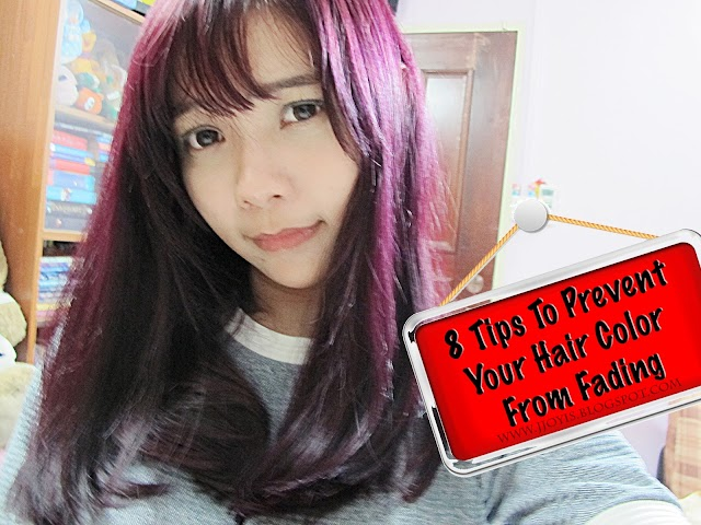8 Ways To Prevent Your Freshly Coloured Hair From Fading