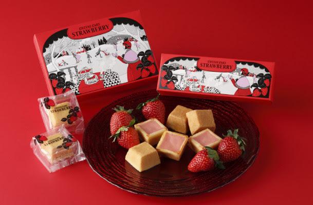 【季節限定】紅甜可愛 Shiseido Parlour士多啤梨芝士蛋糕系列