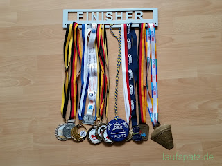 Finisher Medaillen Display Belmoya