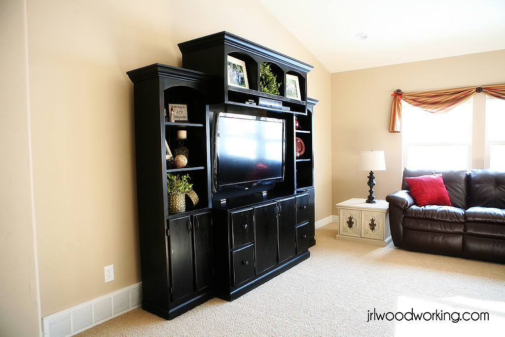 JRL Woodworking – Home Entertainment Furniture Plans