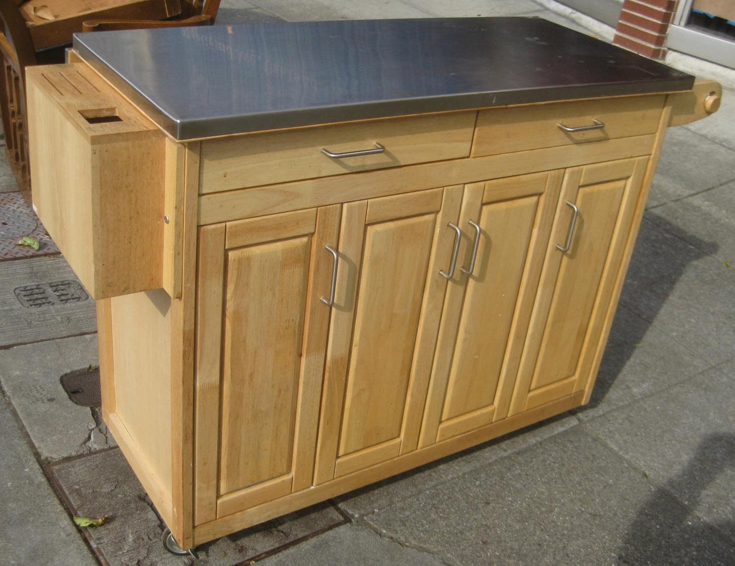 Uhuru Furniture Amp Collectibles Sold Mobile Kitchen