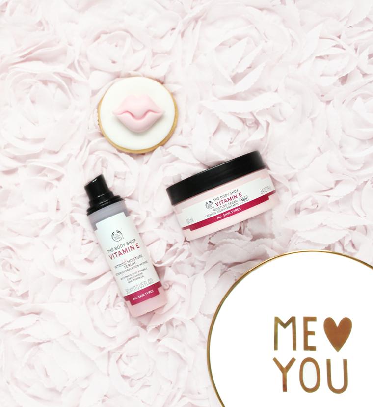The Body Shop Vitamin E Krem do twarzy na dzień nawilżający 48H