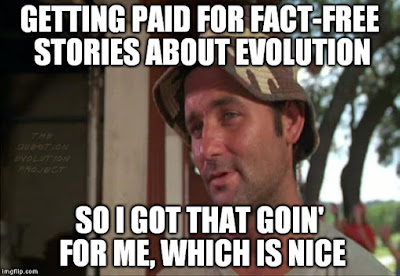 """Evolutionary scientists and their partners in the science press have been spreading """"Just So Stories"""" for years. Now they brag about it."""