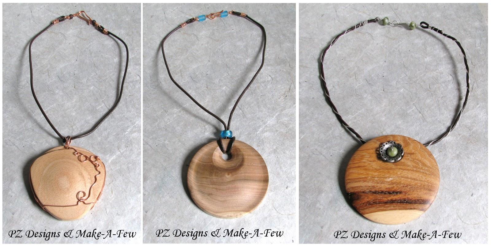 Silver Serpent Studio's Blog: Turned Wood Pendants by Make ...