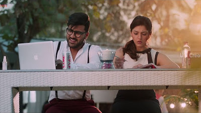 Mehreen Pirzada with Sharwanand HD Wallpapers Of Mahanubhavudu Movie