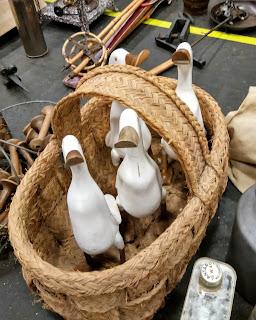 ocas de decoración de lilianes en el desembalaje de bilbao