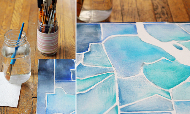 Grid out your paintings for accuracy