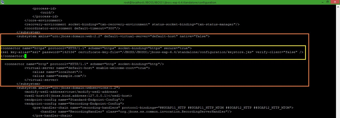 MiddlewareBox: How to configure SSL on JBOSS EAP 6 4 with