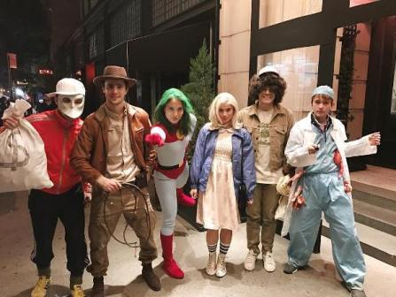 Anne, Isabelle, Erwan and the gang in New York City