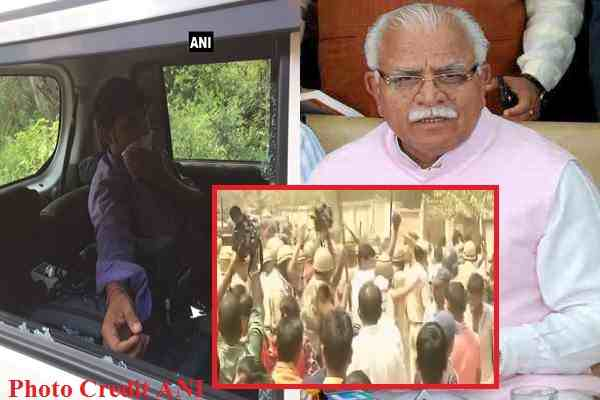 gurugram-police-lathicharge-ani-patrakar-beaten-khattar-slammed
