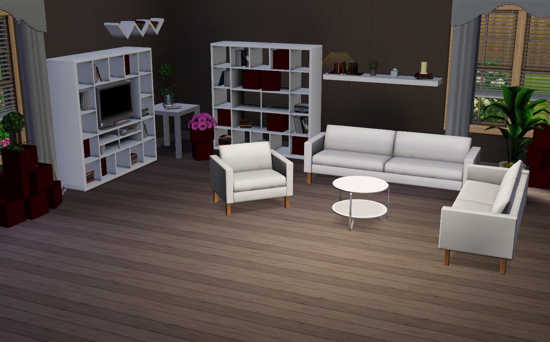 SIMplified Einfach Simlisch Ikea Wohnzimmer 02