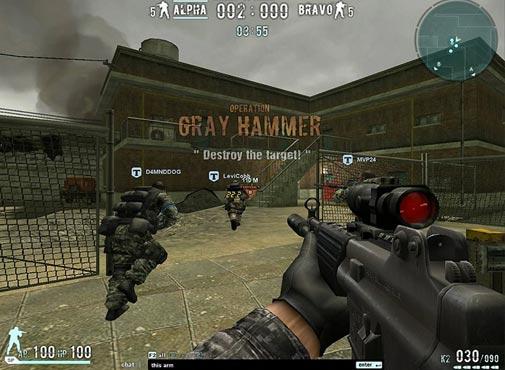 لعبة الحرب واطلاق النار Combat Arms اون لاين
