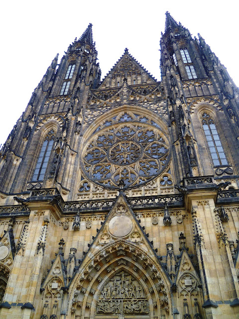 Собор Святого Вита - Прага, Чехия (St. Vitus Cathedral - Prague, Czech Republic)