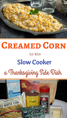 This is a delicious homemade creamed corn recipe made completely from scratch, No cream-of-anything soup required! A perfect accompaniment for your Holiday table.