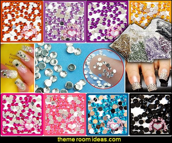 rhinestones-nail art-nail decorations rhinestones