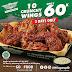 Promo Wingstop Diskon Spesial 10 Crunchy Wings Cuma 60.000