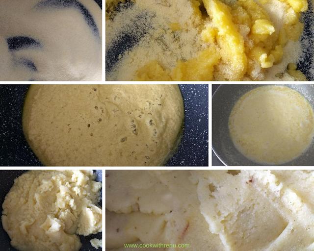 Rava   Sooji Halwa (Indian Semolina Pudding)