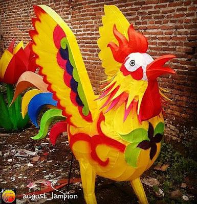 Lampion Ayam