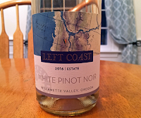 Left Coast Cellars White Pinot Noir 2016