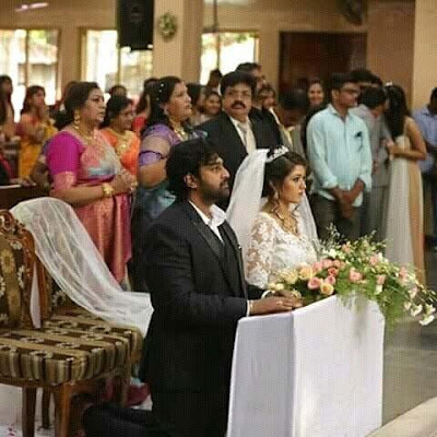 Meghana-Chiranjeevi-Church-wedding