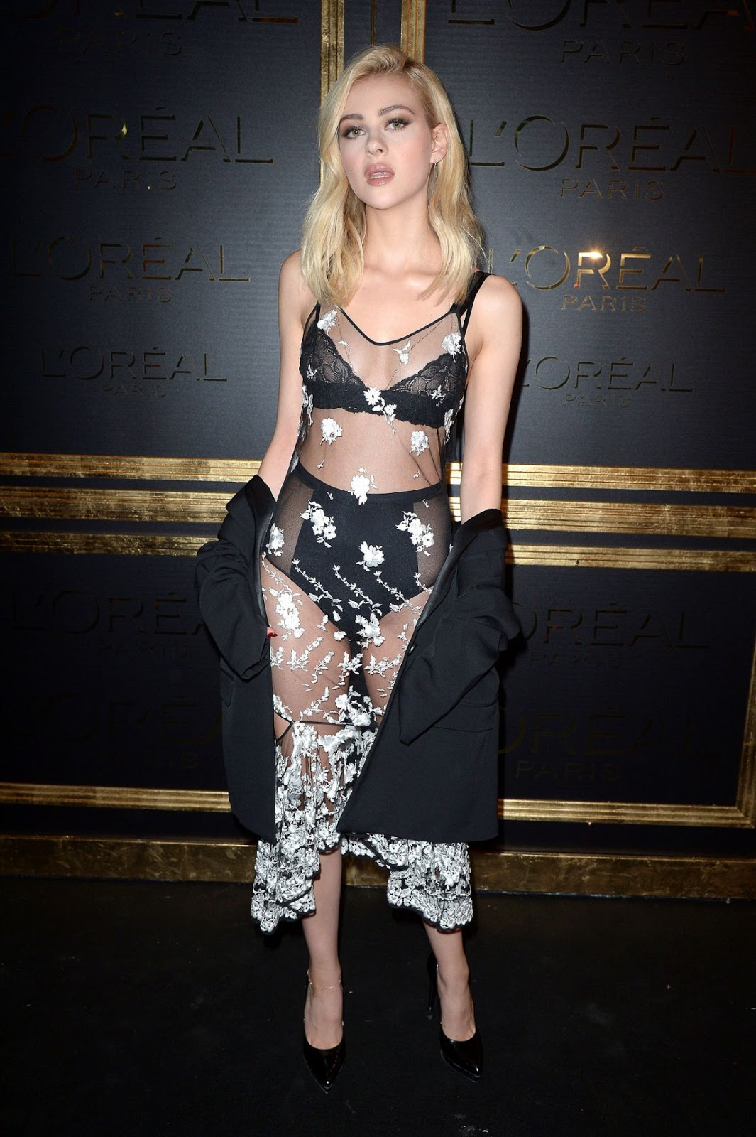 Nicola Peltz at Gold Obsession Party