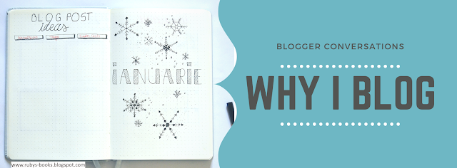 Blogger Conversations: Why I Blog