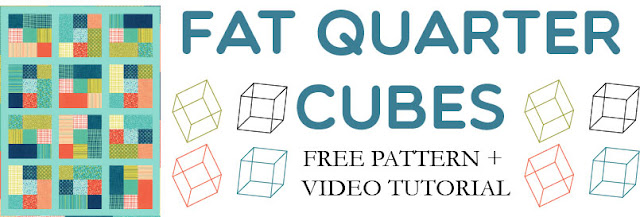 Shortcut Quilt - Fat Quarter Cubes Quilt