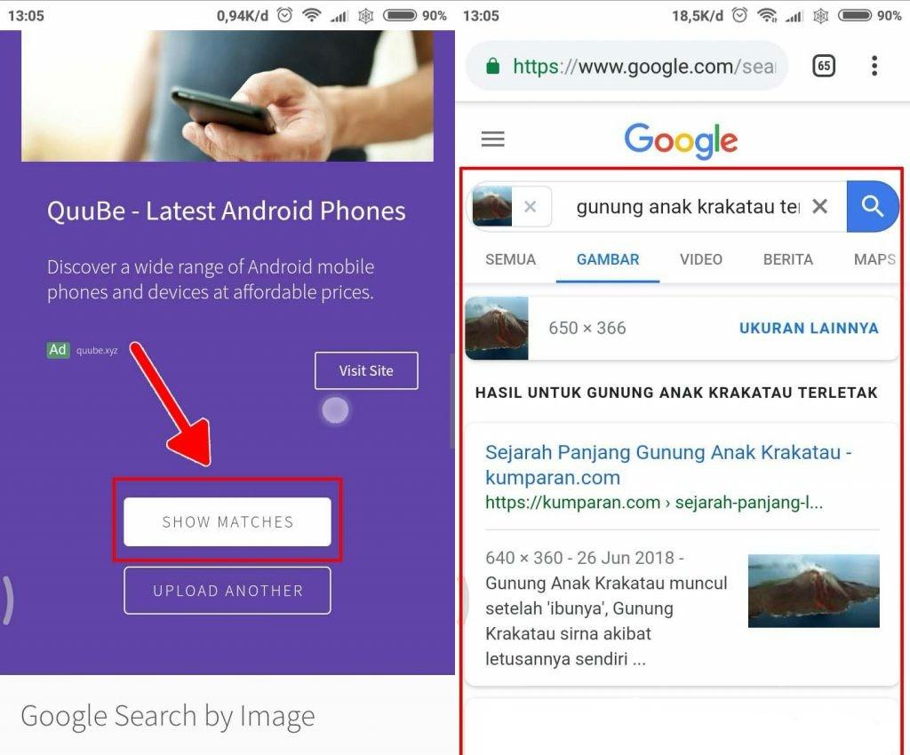 Cara gampang melakukan pencarian informasi dengan gambar di internet 1