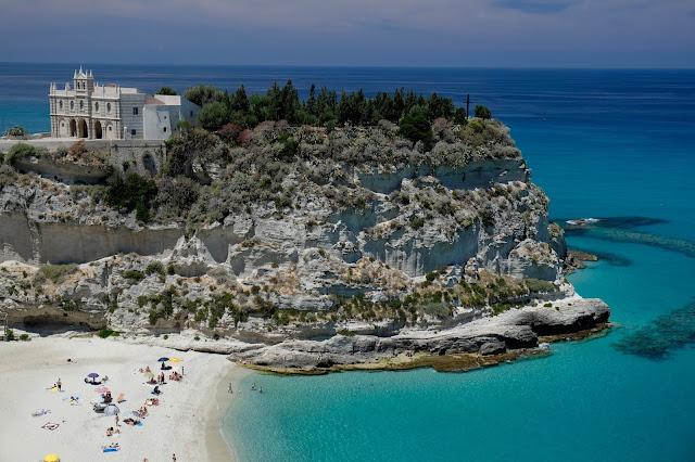 Playas impresionantes Europa Tropea