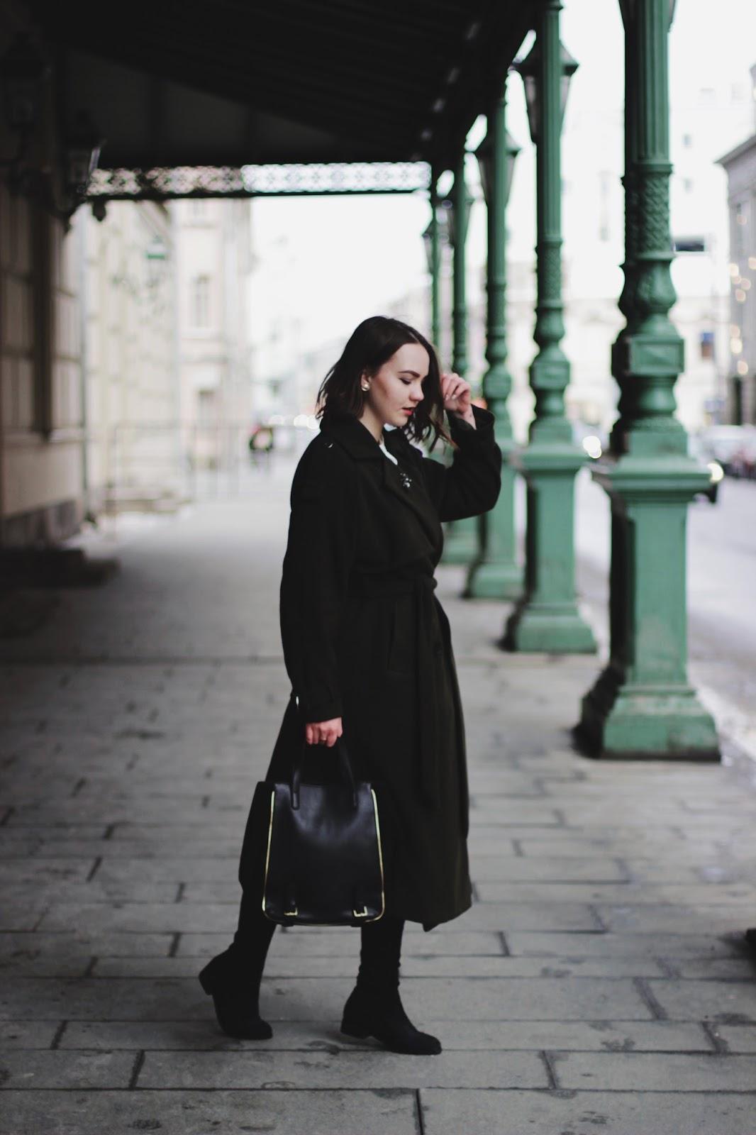 Dezzal Khaki Coat | Fashion Blogger