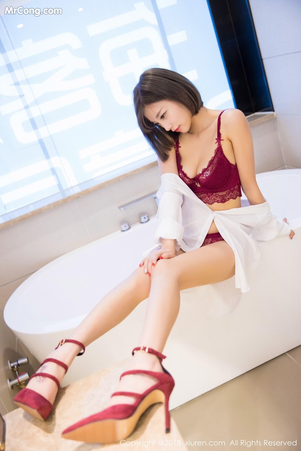 Image XIUREN-No.919-Yang-Chen-Chen-sugar-MrCong.com-046 in post XIUREN No.919: Người mẫu Yang Chen Chen (杨晨晨sugar) (55 ảnh)