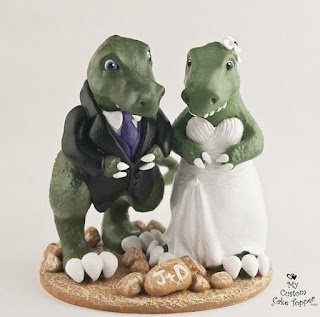 Best Dinosaur Wedding Cake Topper
