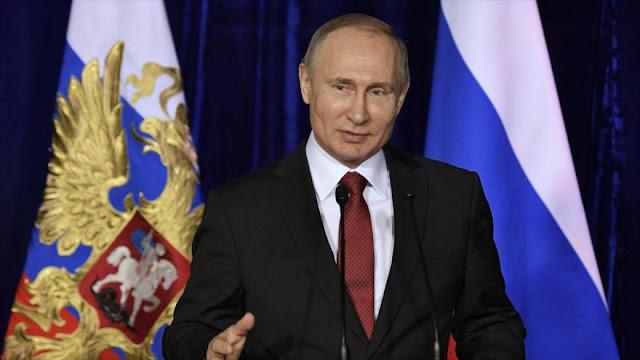Putin: Occidente se cansará pronto de su política de sanciones