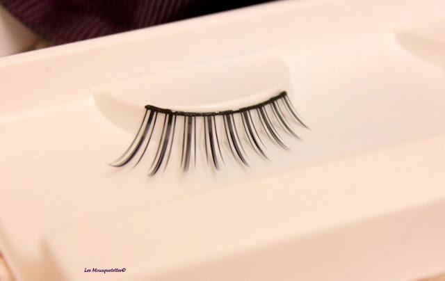 Faux cils - L'Atelier Maquillage Paris - Blog beauté Les Mousquetettes©