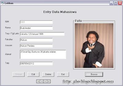 Cara Membuat Program Browse Dan Simpan Foto Dengan Visual Basic 6.0-3