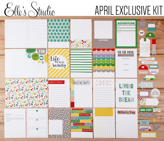 April Kits, Add ons and Live Laugh Love collection from Elle's Studio