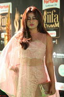 Nidhi Subbaiah Glamorous Pics in Transparent Peachy Gown at IIFA Utsavam Awards 2017  HD Exclusive Pics 37.JPG