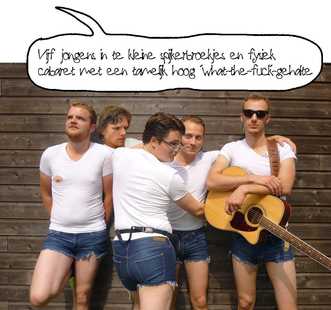 De Blonde Jongens en Tim Groninger Studenten Cabaret Festival 2014