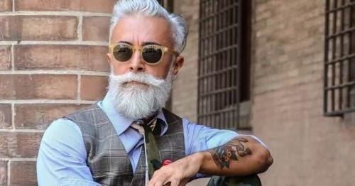 Alessandro Manfredini Beard Grandpa Fashionate Trends