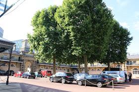 The quadrangle of the Royal Mews, Buckingham Palace
