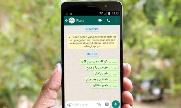 Cara Mudah Membuat Tulisan Arab di Whatsapp